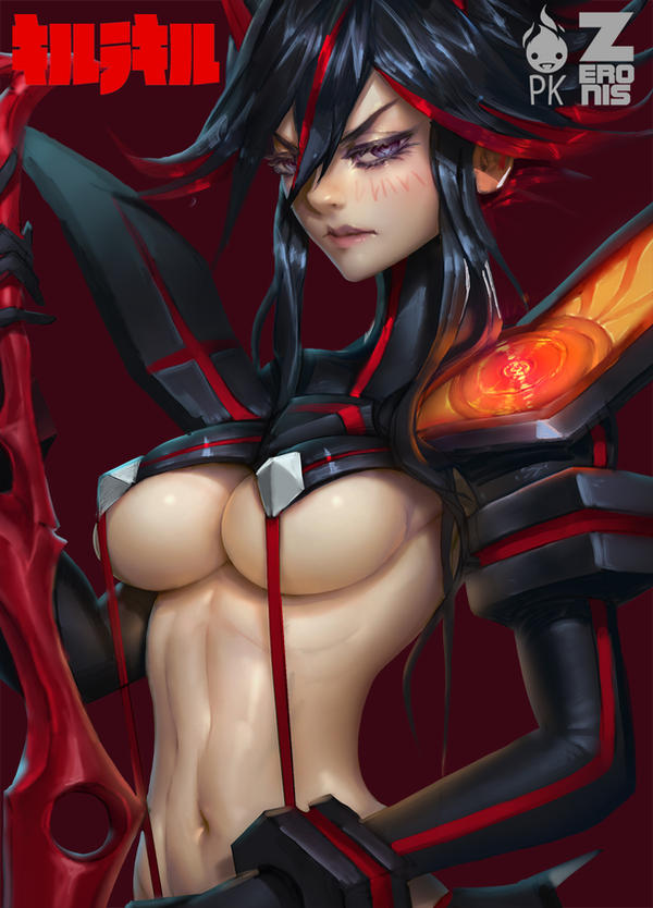 Kill La Kill 4 WIP Zeronis PK by Zeronis