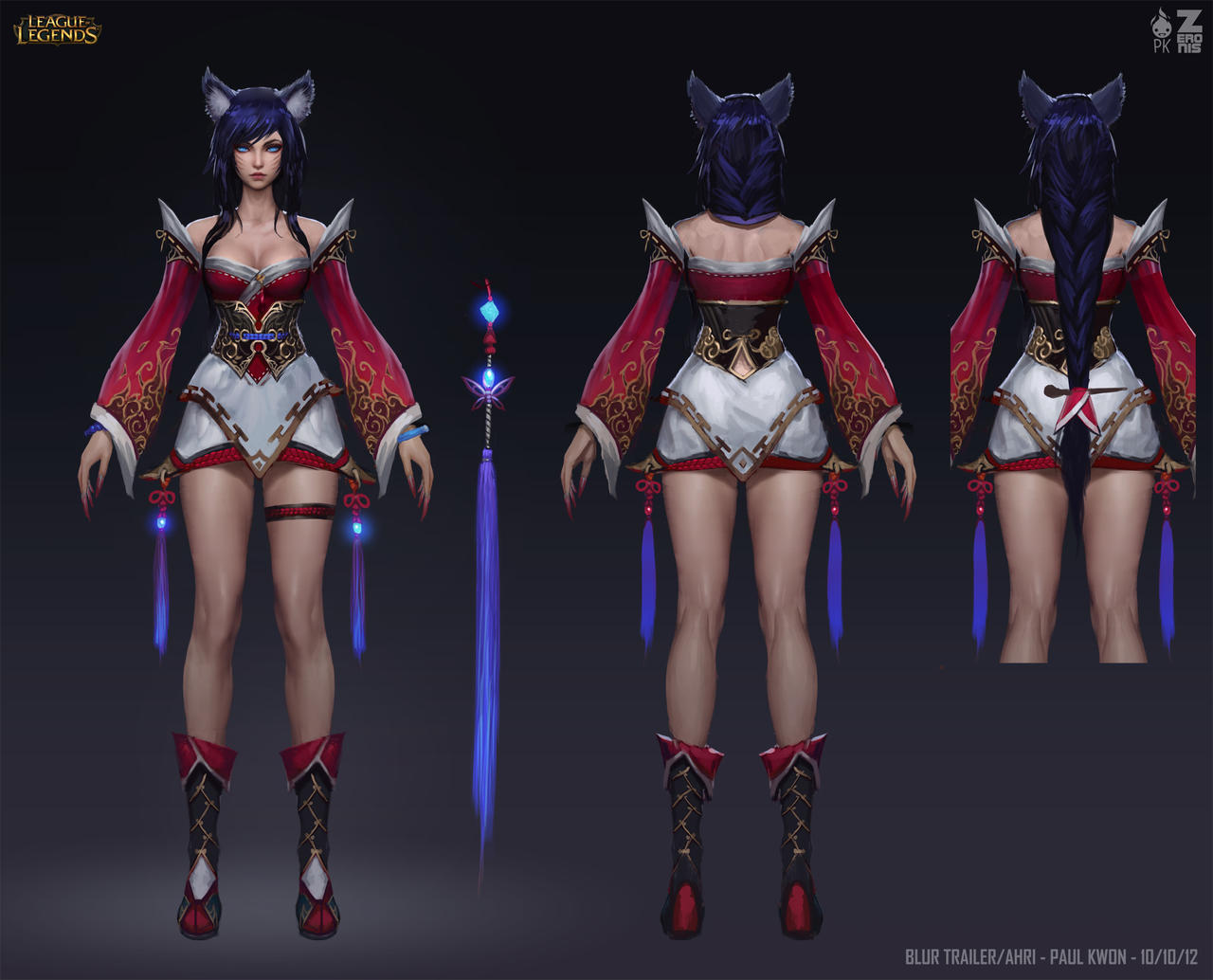 Ahri Concept Zeronis PK by ZeroNis