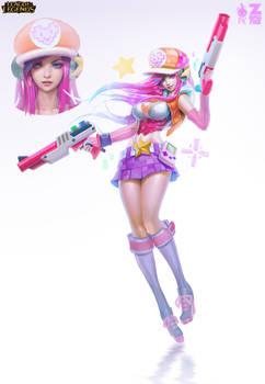 Arcade Miss Fortune Concept Art