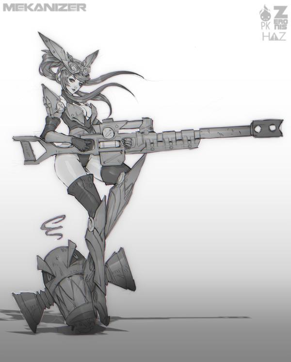Shira Mekanizer Sketch 1 by Zeronis