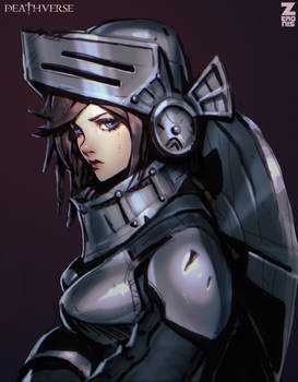 Armored Girl - Deathverse