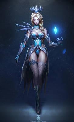 Elsa Dark Ice Queen pt.2