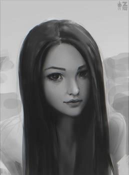 Girl Portrait Study 02