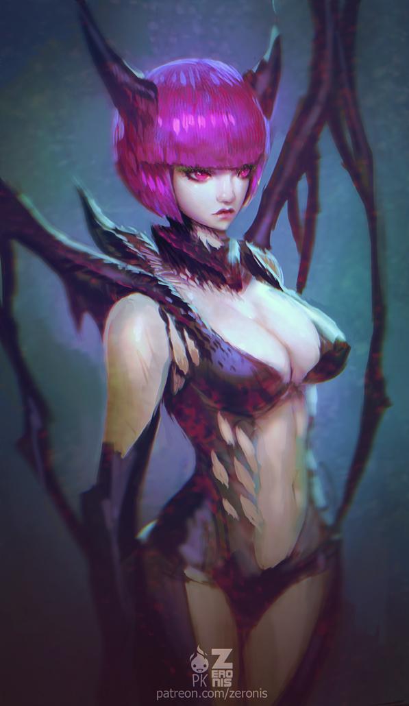 Devil Girl by Zeronis