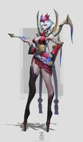 Elise Blood Moon Concept by Zeronis