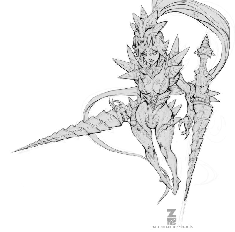 Ceres Bone Drill WIP01 by ZeroNis