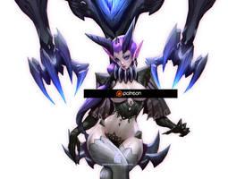 Decima - Phantom Throne SFW by Zeronis