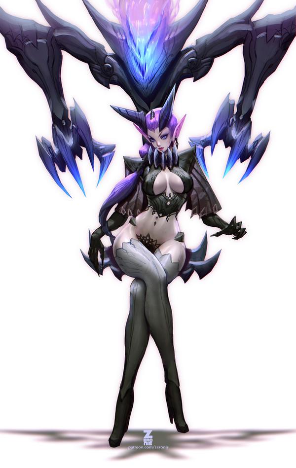 Decima - Phantom Throne pt2 SFW by Zeronis