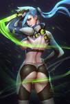 Neon Dash NSFW 01