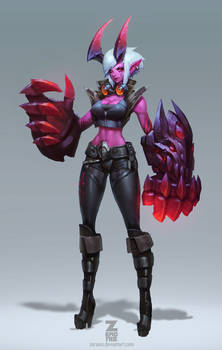 DEMON Vi Concept Art