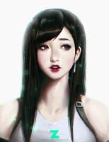 Tifa Portrait 01 by Zeronis