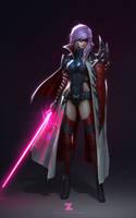 Lightning - Jedi Knight by Zeronis