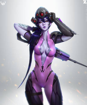 Widowmaker FanArt Zeronis 02