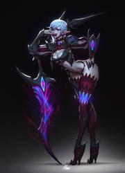 Exella - Deathverse by Zeronis