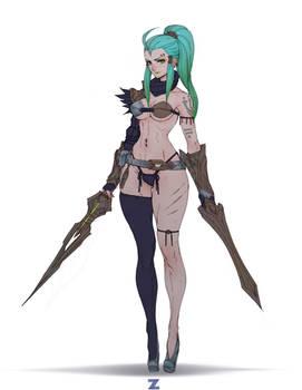 Ventriss Dual Sword - Deathverse pt 2