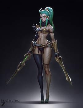 Ventriss Dual Sword - Deathverse