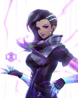 Sombra Fan Art 01 by Zeronis