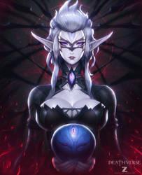Keska Oracle - Deathverse by Zeronis