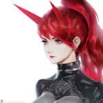 Devil Girl - Red 01  LR01