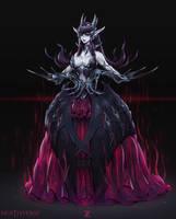 Amelia - Deathverse Zeronis noVeil LR by Zeronis