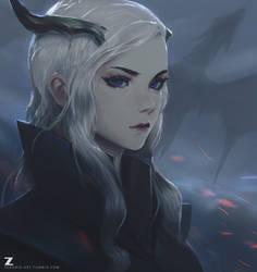 Targerian Queen LR 02 by Zeronis