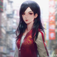 Mulan Tribute Art 01 by Zeronis