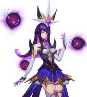 Syndra Star Guardian Concept Art Zeronis crop by Zeronis