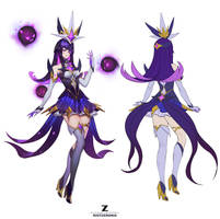 Syndra Star Guardian Concept Art Zeronis by Zeronis