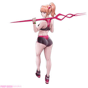 Asuka Sporty - Pinup Queen