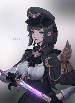 Military Officer Magical Girl