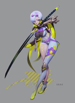 Kris 5 - Cyberpunk