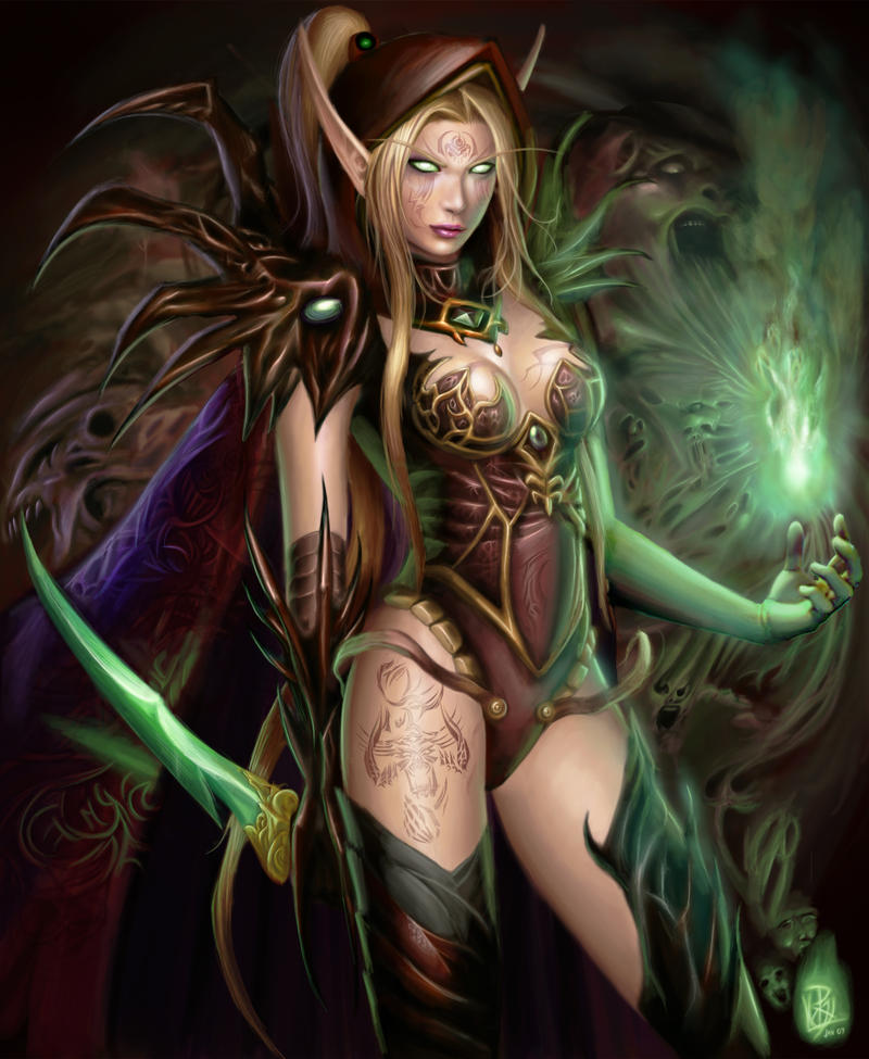 Elfe Magicienne dans Elfes Valeera_Saguinar_by_Shiramune