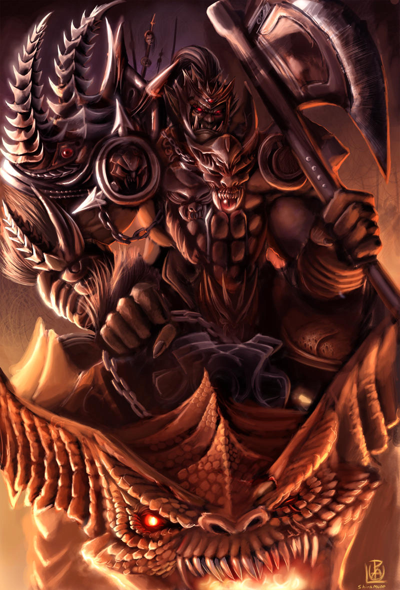Zerkan Da Hell Lord by Shiramune