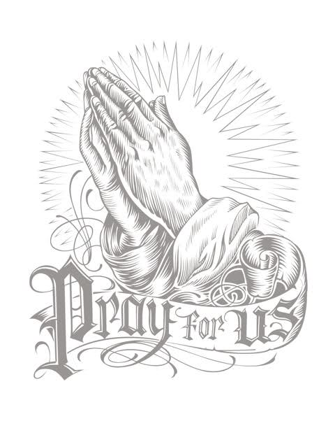praying hands tattoo 356 by scatthecat on deviantart. Black Bedroom Furniture Sets. Home Design Ideas