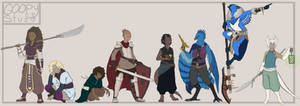Character sketch dump