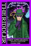 Diy Gotham Comics cards: The Riddler