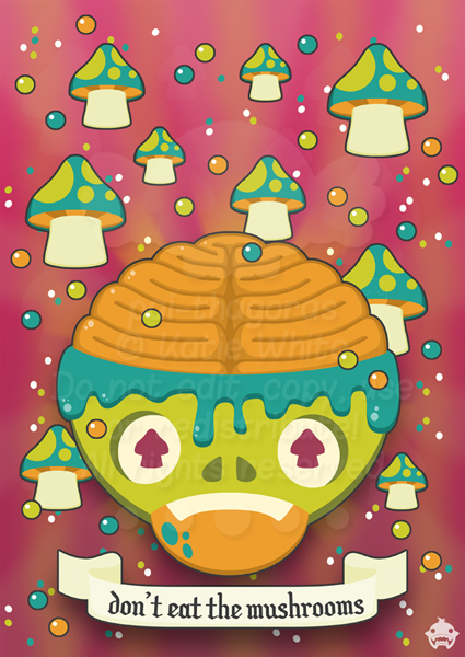 Don't Eat The Mushrooms by pai-thagoras