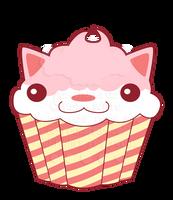 Cupcake Kitty by pai-thagoras
