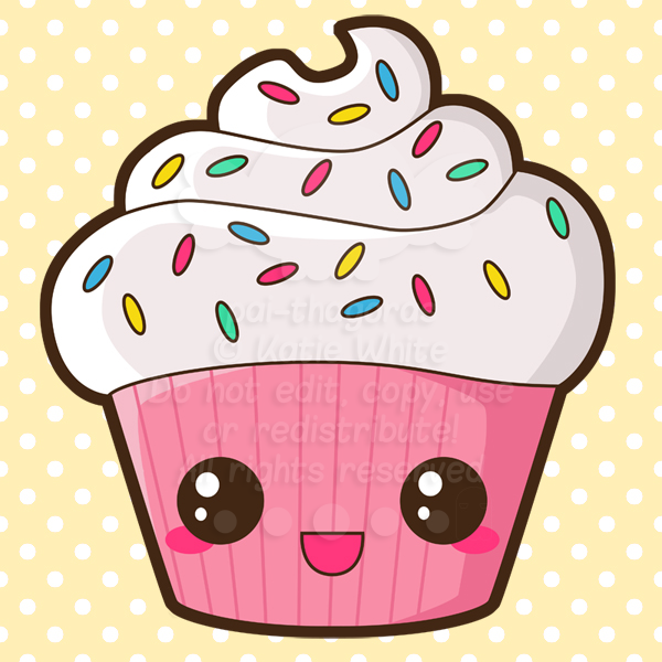 happy cupcake by pai thagoras on deviantart cute birthday cupcake clipart cute birthday cupcake clipart