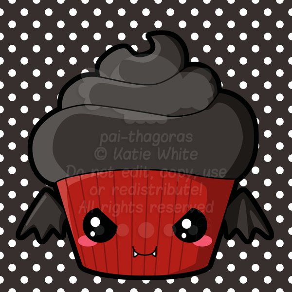 Vampire Cupcake by pai-thagoras on DeviantArt