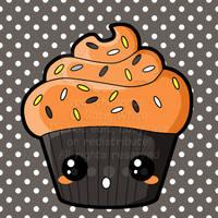 Halloween Cupcake by pai-thagoras