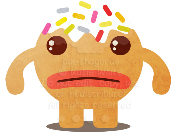 DaD - 024 Gingerbread Monster by pai-thagoras