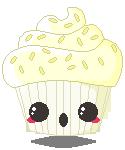 DaD - 073 Pixel Ghostie Cupcake by pai-thagoras