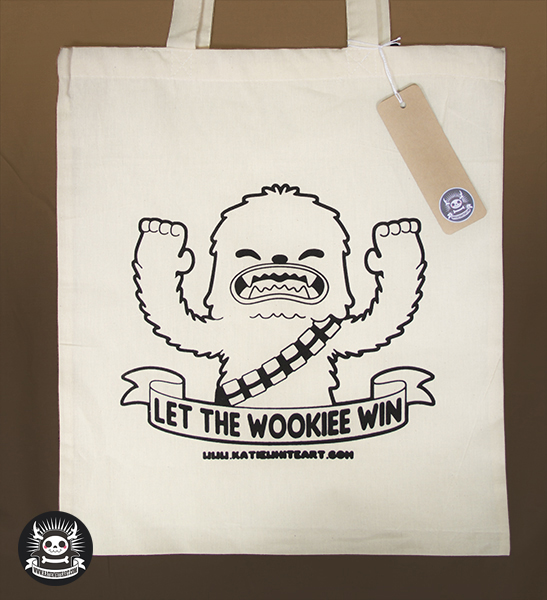 Let The Wookiee Win - Chewbacca Tote by pai-thagoras