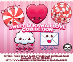 Sweet and Kawaii Love Collection by pai-thagoras
