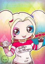 Margot Robbie - Harley Quinn by pai-thagoras
