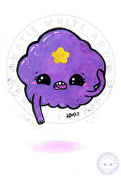 Lumpy Space Princess [Watercolour I]