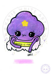 Lumpy Space Princess [Watercolour II]