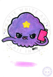 Lumpy Space Princess [Watercolour III]