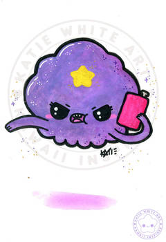 Lumpy Space Princess [Watercolour III]